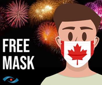 SeeWhy Canada Day Mask